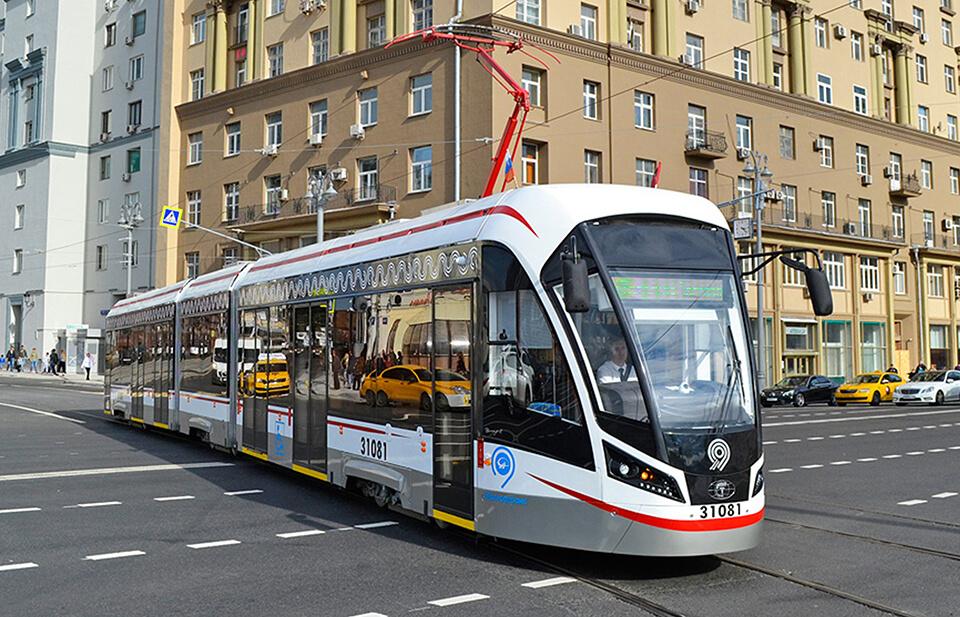 Moscow tram project, Vityaz M - Tamware